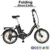 E-Bicicleta competitiva de la dimensión de una variable de S plegable la mini E-Bicicleta de la bici eléctrica eléctrica de la bicicleta (TDN09Z)