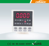 E8 Panel Size 48*48mm Digital AC LED Display Single Phase Multifunction Meter, Can Add Switch Input 및 Transmitting Output