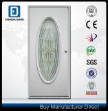 Ausgeglichene bereiftes Glas-Dusche-Stahl-Tür