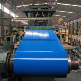 Bobina d'acciaio PPGI di colore di prezzi competitivi per lo strato del tetto (SC-001)