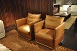 Singolo sofà di cuoio comodo per uso della Camera (SF052)
