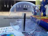 Bola que recorre para la venta, bola del agua inflable clara divertida del agua de Inflatalbe