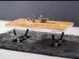 ガラス10のmmのの金属の家具のコーヒー茶表