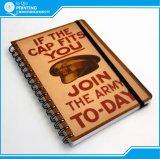 Impression de cahier de papier d'agenda de calendrier