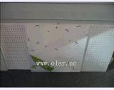 Tablero colorido interior acústico del techo del silicato del calcio