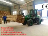 Pallet Fork를 가진 새로운 Small Telescopic Loader (HQ920T)