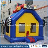 Federnd Spiel-springender Spielzeug-Auto-Haus-aufblasbarer Prahler für Verkauf