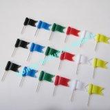 штыри карты флага 30mm пластичные волнистые для офиса Using (P160112B)