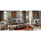 Gewebe-Sofa stellte für Wohnzimmer-Möbel ein (510B)