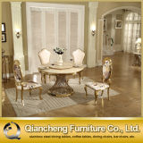 호화스러운 디자인 로즈 황금 스테인리스 현대 식사 의자
