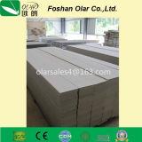 Parete laterale di legno del grano della decorazione ambientale Scheda-Verde del cemento della fibra