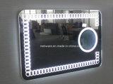 現代浴室LEDミラーLEDによってバックライトを当てられるミラー