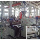 Máquina de producción de tuberías de PVC con doble tornillo extrusor