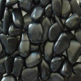 Black Cobble Stone para Walk and Garden Decoration
