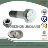 8.8 Ранг Cold Galvanized A325 Bolt с Nut и Washer
