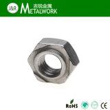 Hexa inoxidable/carbone d'acier/noix carrée de soudure