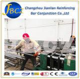 Rebarのカプラーのための取り乱した鍛造材の平行の糸機械