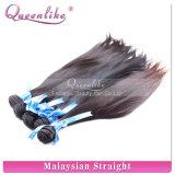 Выдвижения человеческих волос девственницы AAA ранга бразильские, шелковистые прямые волосы (FDX-BR-TE1118)
