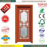 Conception en bois de porte principale de la meilleure de vente conception de puits