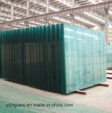 verre de bâtiment de qualité de 2140X3660 12mm pour la porte, mur, Bulastrade