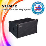 línea pasiva altavoz del sistema audio 12 '' Vera12 del arsenal