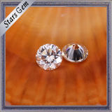 White puro Color Synthetic Diamond Loose Moissanite per Jewelry Rings