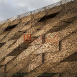 Aluminum Wall Facade를 위한 철사 Mesh Style Aluminum Perforated Panel