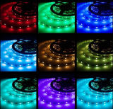 Tira flexible colorida los 30LEDs/M con Ce, RoHS de la alta calidad SMD5050 RGB LED