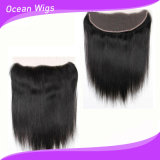 Cheap all'ingrosso Human Hair Lace Closure, Ear a Ear 13X4 Lace Frontal Closure (F-002)