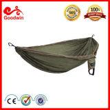 Hamac militaire de parachute léger chaud de vente avec des courroies d'arbre d'hamac