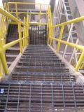 Reja de acero galvanizada de la mina de la INMERSIÓN caliente para la plataforma