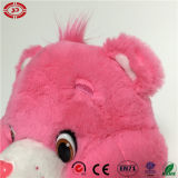 Het roze vulde het Zachte Mooie Stuk speelgoed van de Kwaliteit met de Teddybeer van het Hart