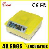 Incubator van het Ei van de Kip van Hhd de Hoge Efficiënte Volledige Automatische Mini (ew-48) in Bevordering