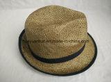 Panama-Strohfedora-Hüte 100%