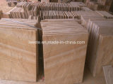 Sandstone amarelo de madeira, telhas dos Sandstones, telhas do cogumelo dos Sandstones