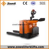 Carro de paleta eléctrico ISO9001 con capacidad de carga de 2/2.5/3 toneladas