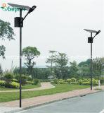 Energiesparendes getrenntes Sonnenkollektor-Solarstraßenlaterne
