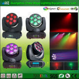 RGBW 7PCS LED Moving Head Wash Beam Light da vendere