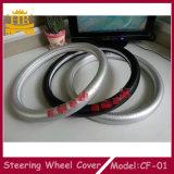 Вышейте вашей крышке рулевого колеса автомобиля волокна углерода логоса