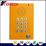 Systèmes de sécurité du téléphone Knzd-29 du téléphone Emergency SOS de Cleanroom