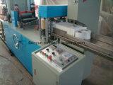 Serviette de qualité faisant la machine avec le matériel d'impression de couleur