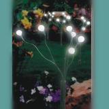 Indicatore luminoso alimentato solare del bastone per illuminazione del campo