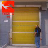 Porta de alta velocidade industrial automática do obturador de rolamento do PVC (HF-02)