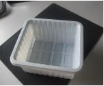 Voller automatischer heißer Cup-Frucht-Behälter, der Maschine herstellend sich bildet
