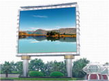Solución al aire libre de la visualización de LED para los media de publicidad (echada 16m m del pixel)