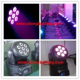 Konkurrenzfähiges wäsche-Hochzeits-Licht des Preis-10W RGBW bewegliches Haupt