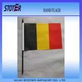 Материал PE печатание горячего высокого качества Eco содружественного белого пластичного Поляк сбываний UV трястия развевая флаг рук