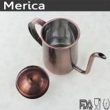 BronzeEdelstahl-Kaffee-Kessel