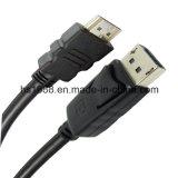 15m Hoge snelheid Displayport aan Kabel HDMI M/M