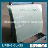 Baixo o ácido geado do ferro Sandblast gravou o vidro
